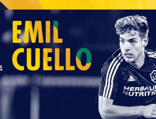 Emil Cuello, First MLS Game
